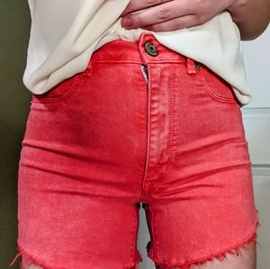 AE Pink Pink Jeans Shorts